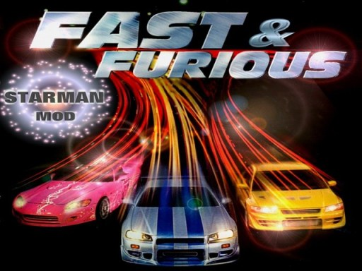 Loading Screen of FAST&FURIOUS MOD included in Starman Mod